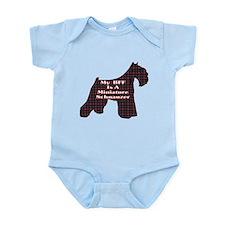 BFF Miniature Schnauzer Infant Bodysuit