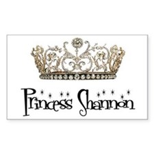 Princess Shannon Rectangle Decal