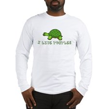 I Like Turtles Long Sleeve T-Shirt