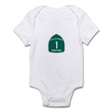 Ventura, California Highway 1 Infant Bodysuit