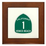 Venice Beach, California High Framed Tile