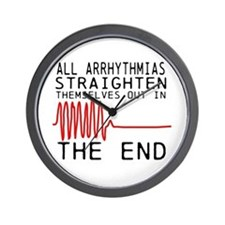 Arrhythmias Wall Clock