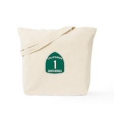 Santa Monica, California High Tote Bag