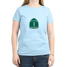 San Simeon, California Highwa T-Shirt
