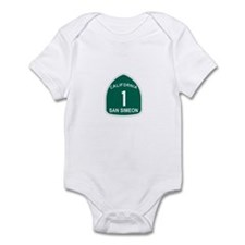 San Simeon, California Highwa Infant Bodysuit