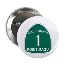 "Point Magu, California Highwa 2.25"" Button (10 pac"