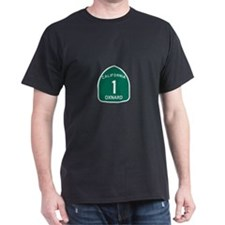 Oxnard, California Highway 1 T-Shirt