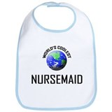 World's Coolest NURSEMAID Bib
