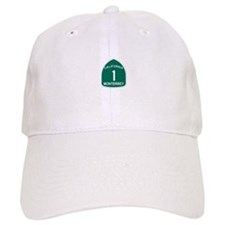 Monterrey, California Highway Baseball Cap