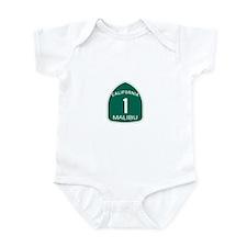 Malibu, California Highway 1 Infant Bodysuit