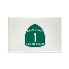 Laguna Beach, California High Rectangle Magnet (10