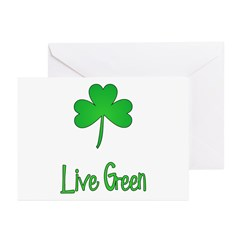 Live Green Greeting Cards (Pk of 10)
