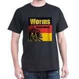 Worms Deutschland  T-Shirt