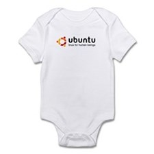 Cute Ubuntu Infant Bodysuit