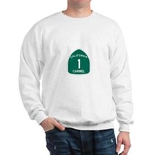 Carmel, California Highway 1 Sweatshirt