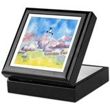 Gull at Sunset Keepsake Box