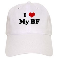 I Love My BF Baseball Cap