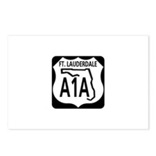 A1A Fort Lauderdale Postcards (Package of 8)