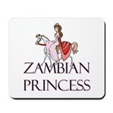 Zambian Princess Mousepad