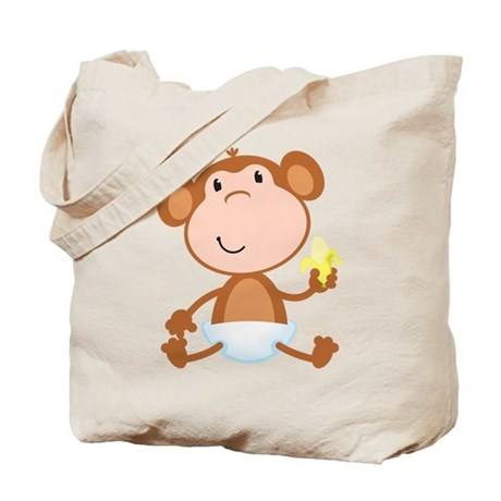 Baby Monkey Tote Bag