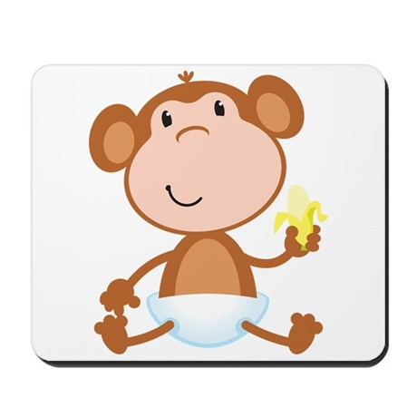 Baby Monkey Mousepad