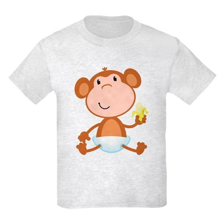 Baby Monkey Kids Light T-Shirt