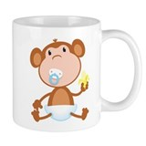 Pacifier Monkey Small Mug