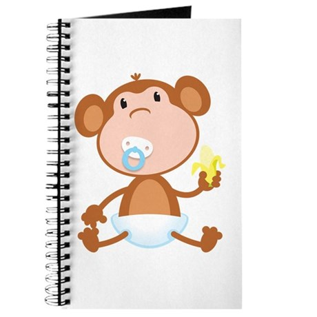 Pacifier Monkey Journal