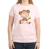 Pacifier Monkey T-Shirt