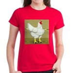 Cornish/Rock Cross Hen Women's Dark T-Shirt