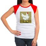 Cornish/Rock Cross Hen Women's Cap Sleeve T-Shirt