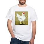 Cornish/Rock Cross Hen White T-Shirt