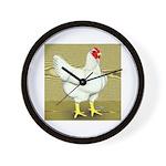 Cornish/Rock Cross Hen Wall Clock