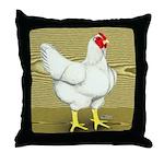 Cornish/Rock Cross Hen Throw Pillow