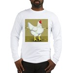 Cornish/Rock Cross Hen Long Sleeve T-Shirt