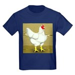 Cornish/Rock Cross Hen Kids Dark T-Shirt