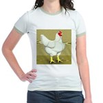 Cornish/Rock Cross Hen Jr. Ringer T-Shirt