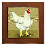 Cornish/Rock Cross Hen Framed Tile