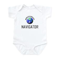 World's Coolest NAVIGATOR Infant Bodysuit