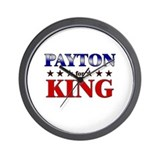 PAYTON for king Wall Clock