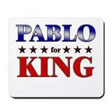 PABLO for king Mousepad