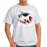 Patriotic MFT Ash Grey T-Shirt