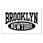 Brooklyn New York Rectangle Sticker