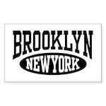 Brooklyn New York Rectangle Sticker
