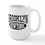 Brooklyn New York Large Mug