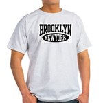 Brooklyn New York Ash Grey T-Shirt