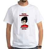 Vegeta hates you all T shirt