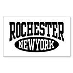 Rochester New York Rectangle Sticker