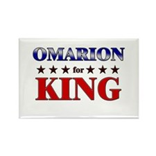 OMARION for king Rectangle Magnet