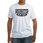 Rochester New York Fitted T-Shirt